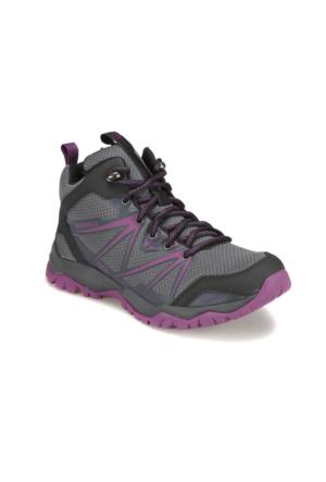 Merrell Capra Rise Mid Wtpf Gri Kadın Outdoor Ayakkabı
