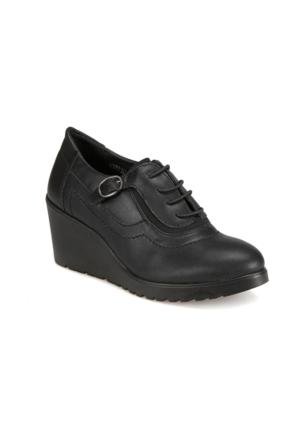 Polaris 62.109230.Z Siyah Kadın Ayakkabı