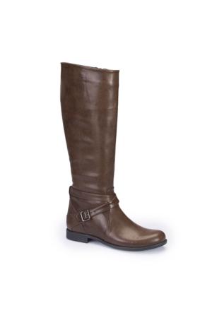 Polaris 62.309614.Z Kahverengi Kadın Çizme