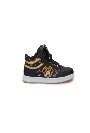 Mickey Mouse A3360317 Siyah Kız Çocuk Sneaker
