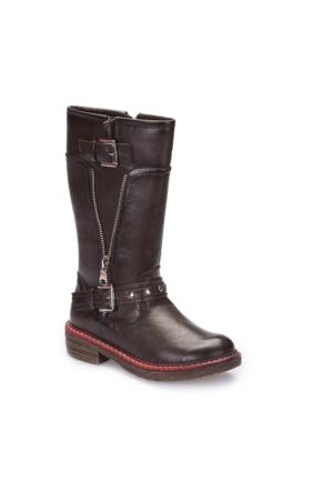 Pink Step A3360424 Kahverengi Kız Çocuk Çizme