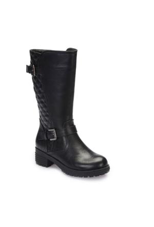 Pink Step A3360436 Siyah Kız Çocuk Çizme
