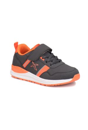 Kinetix A1317562 Antrasit Turuncu Açık Gri Erkek Çocuk Sneaker