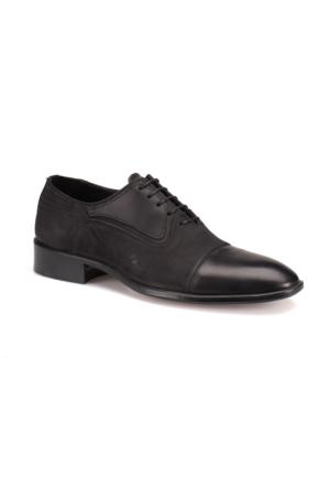 Garamond Erg-3000 M 6683 Siyah Erkek Deri Klasik Ayakkabı