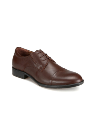 Garamond G-61 M 1455 Kahverengi Erkek Deri Klasik Ayakkabı