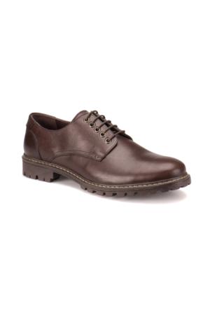 Garamond 907 M 1492 Kahverengi Erkek Deri Modern Ayakkabı
