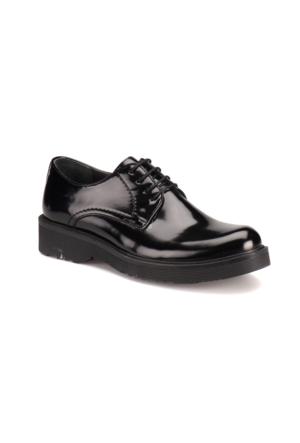 Jj-Stiller 61331 M 1492 Siyah Erkek Deri City Ayakkabı