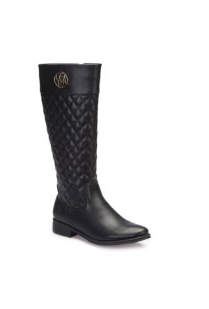 U.S. Polo Assn. A3376371 Siyah Kadın Çizme
