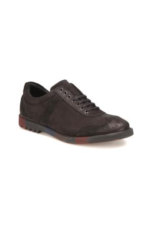 Oxide 143-1 M 1492 Siyah Erkek Nubuk Deri Klasik Ayakkabı