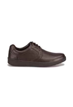 Flogart 5655-2 M 1453 Kahverengi Erkek Deri Klasik Ayakkabı