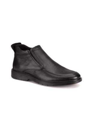 Flogart 372-1 M 1493 Siyah Erkek Deri Klasik Ayakkabı