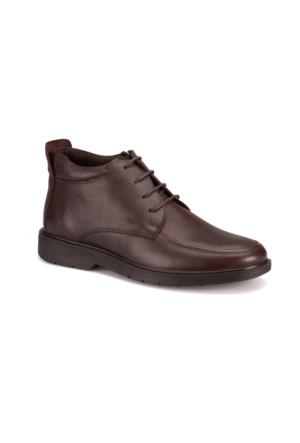 Flogart 372 M 1493 Kahverengi Erkek Deri Klasik Ayakkabı