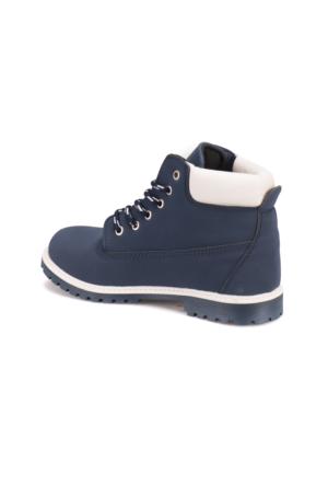 Carmens A7100039 Lacivert Kadın Worker Ayakkabı