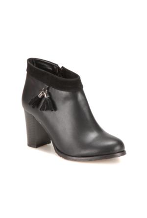 Miss F A7200078 Siyah Kadın Bootie