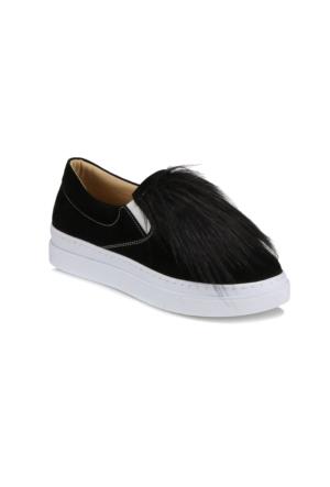 Art Bella A7100104 Siyah Kadın Slip On Ayakkabı