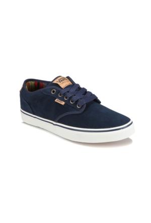 Vans Atwood Deluxe Mavi Unisex Çocuk Süet Deri Sneaker