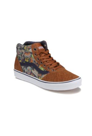 Vans Milton Hi Siyah Unisex Çocuk Sneaker