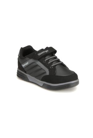 Slazenger FEDOR Siyah Unisex Çocuk Yürüyüş Ayakkabısı