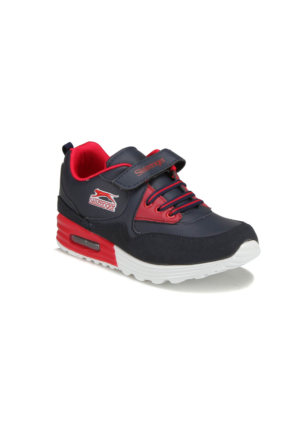 Slazenger Faran Lacivert Kırmızı Unisex Çocuk Yürüyüş Ayakkabısı