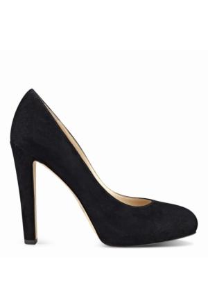 Nine West Nwbrıelyn Siyah Gerçek Süet Kadın Ayakkabı