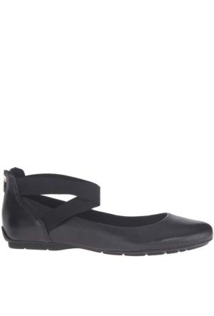 Anne Klein Akıtcanbe Siyah Gerçek Deri Kadın Ayakkabı