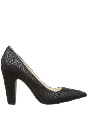 Anne Klein Akhollyn Siyah Gerçek Süet Kadın Ayakkabı