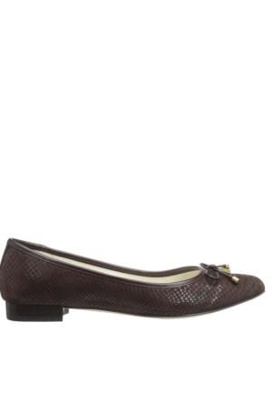 Anne Klein Akovı Kahve Gerçek Deri Kadın Ayakkabı