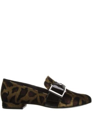 Nine West Nwzance2 Leopar Kadife Kadın Ayakkabı