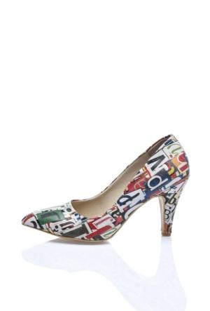 Del La Cassa Letter 2Z 0252 Kadın Ayakkabı