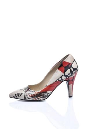 Del La Cassa Woman 2 Red Woman 2Z 0252 Kadın Ayakkabı