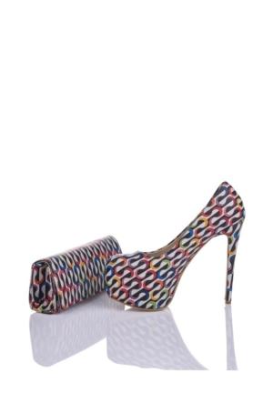 Del La Cassa İyo Set İyoz 0252 Kadın Ayakkabı Set