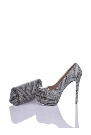 Del La Cassa Jasmin Set Jasminz 0252 Kadın Ayakkabı Set