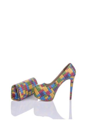 Del La Cassa Legole Set Legolez 0252 Kadın Ayakkabı Set