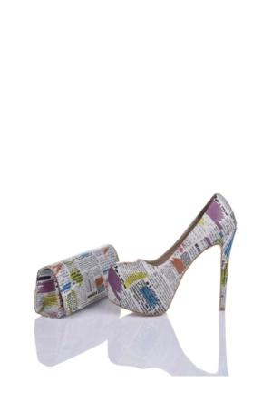 Del La Cassa News Set Newsz 0252 Kadın Ayakkabı Set