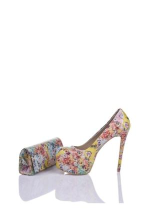 Del La Cassa Papillon Set Papillonz 0252 Kadın Ayakkabı Set