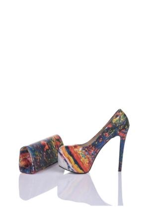 Del La Cassa Yard Set Yardz 0252 Kadın Ayakkabı Set