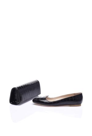 Elena Blanca 401 1Z 0252 Kadın Ayakkabı Set