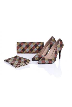 Lorawest Ajx 17 Acz 0252 Kadın Ayakkabı Set