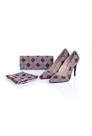 Lorawest Ajx 18 Acz 0252 Kadın Ayakkabı Set
