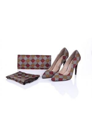Lorawest Ajx 20 Acz 0252 Kadın Ayakkabı Set