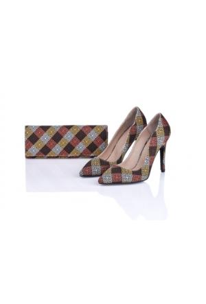 Lorawest Ajx 22 Acz 0252 Kadın Ayakkabı Set