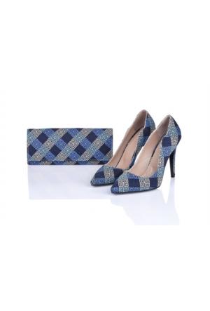 Lorawest Ajx 24 Acz 0252 Kadın Ayakkabı Set
