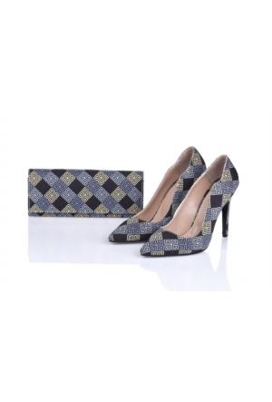 Lorawest Ajx 29 Acz 0252 Kadın Ayakkabı Set
