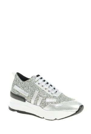 Derigo Kadın Spor Ayakkabı Gümüş 22484