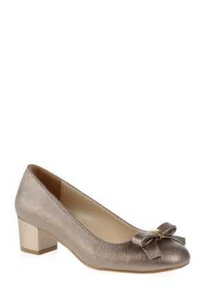 Derigo Kadın Topuklu Ayakkabı Gri 2818243