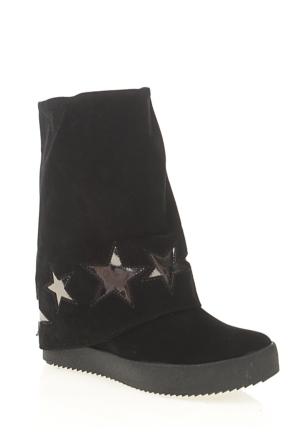 Derigo Kadın Çizme Siyah 3918107