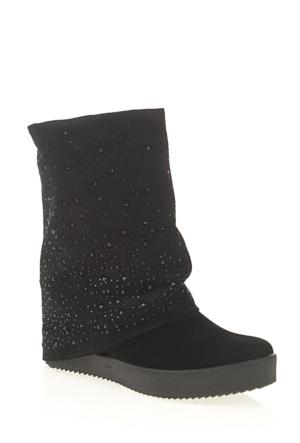 Derigo Kadın Çizme Siyah 3918108