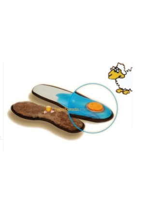 İcemen Ortapedik 101k Kürk Ayakkabı Tabanı