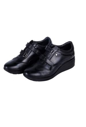 Greyder 55720 Kadın Siyah Ayakkabı