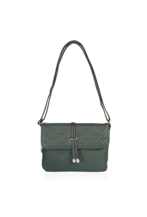Polo W Club 4391 Kadın Çapraz Çanta Yeşil